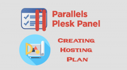 Plesk Creating Hosting Plan