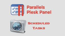 Plesk Scheduled Tasks