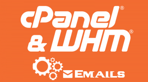 WHM cPanel Manage Emails