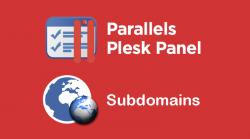 Plesk Subdomain