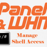 Manage Shell Access for cPanel accounts within WHM