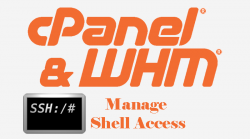 WHM Manage Shell Access