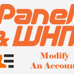 How to Modify an Account within WHM