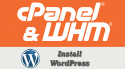 cPanel Install WordPress