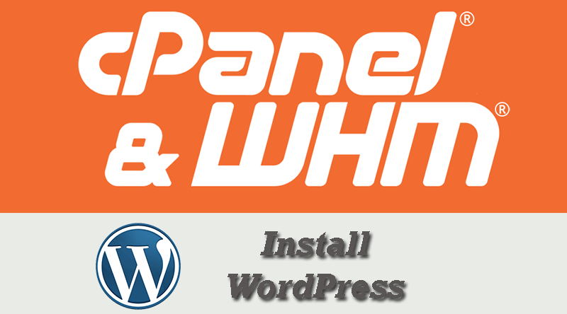 How to Install WordPress within cPanel Using Softaculous