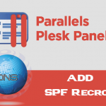 How to add DNS SPF Record for domain In Plesk