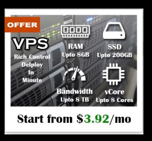 vps ssd offer