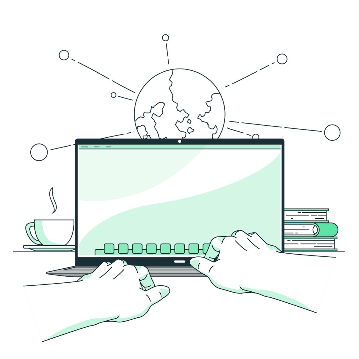 web managing