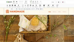 Easy text & images editor